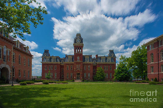 Dan Friend - Woodburn Hall summer paintography
