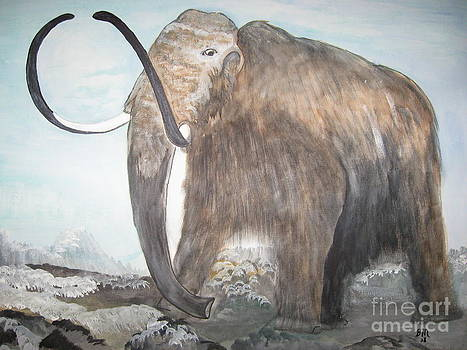 Wooly Mammoth by Brenda Mayall