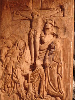 Work in progress - On Calvary by G Peter Richards