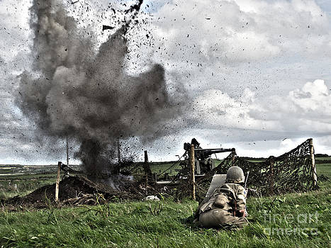 World War 2 Re-enactors by Tony Black