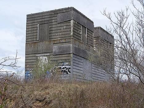 World War II Bunker at Montauk Point by Neal David Reilly