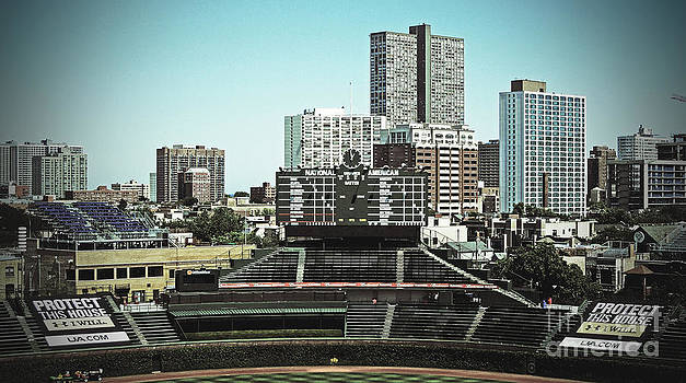 Wrigley Field by Michelle Hastings