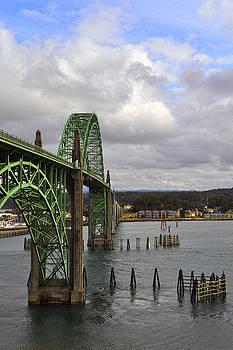 Yaquina Bay Bridge by Thomas J Rhodes