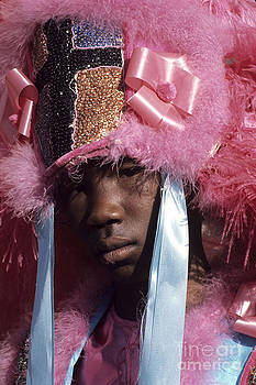 Young Mardi Gras Indian by Christopher R Harris