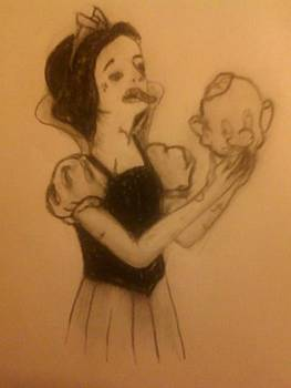 Zombie Snow White by Lee Farley