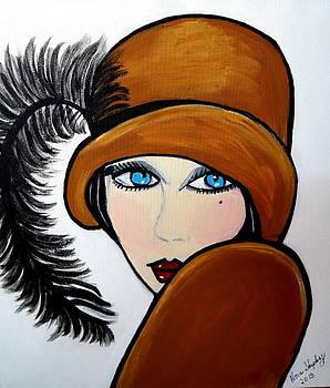 Art Deco  Gail by Nora Shepley