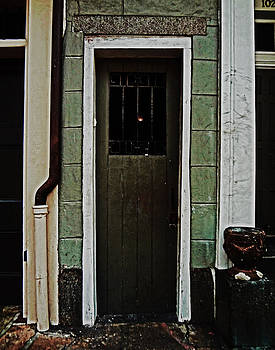 New Orleans Door by Louis Maistros