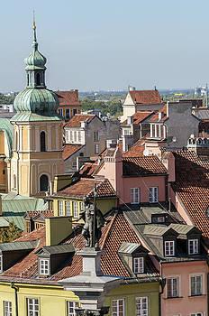 Warsaw Old Town. by Fernando Barozza