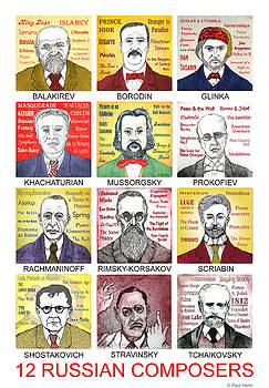 12 Russian Composers by Paul Helm