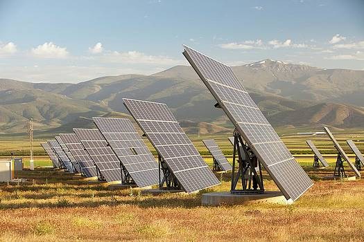 A Photo Voltaic Solar Power Station by Ashley Cooper