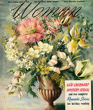 1940s Uk Woman Magazine Cover by The Advertising Archives