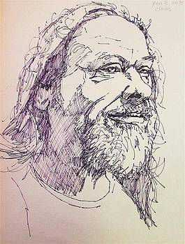 15 Minute Pen Sketch by David Lobenberg