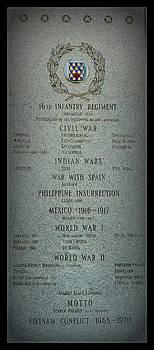 Rosanne Jordan - 16th Infantry Regiment History