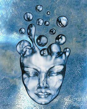 16x20 Slow Boil Water Spirit by Dia T