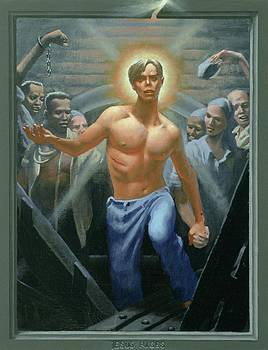 18. Jesus Rises / from The Passion of Christ - A Gay Vision by Douglas Blanchard