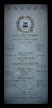 Rosanne Jordan - 18th Infantry Regiment History