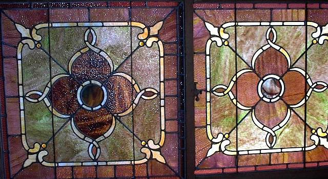 1900 Stained Glass by Linda Tyson