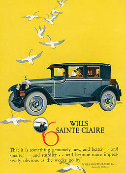 1920s Usa Wills-sainte Claire Magazine by The Advertising Archives