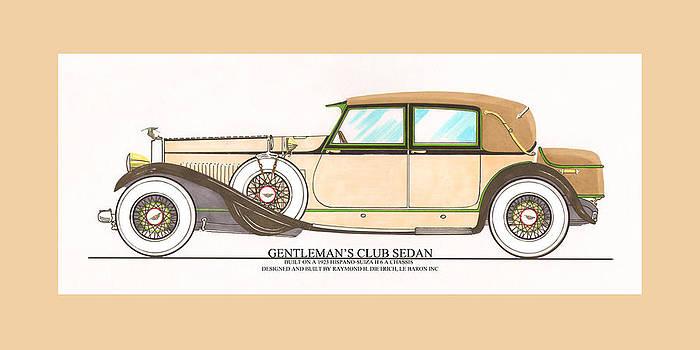 Jack Pumphrey - 1923 Hispano Suiza Club Sedan by R.H.Dietrich