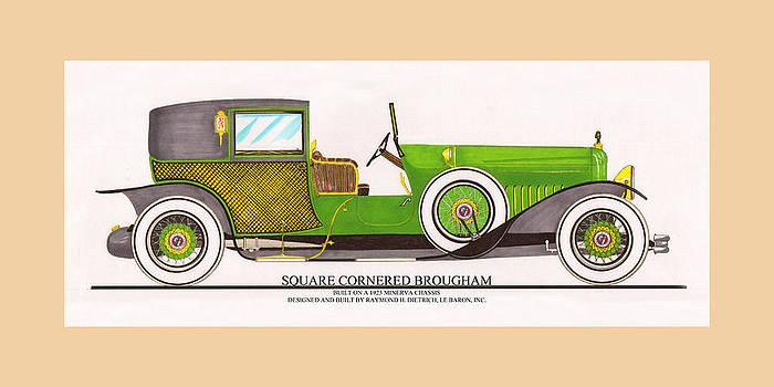 Jack Pumphrey - 1923 Minerva by Raymond H. Dietrich LeBaron Inc