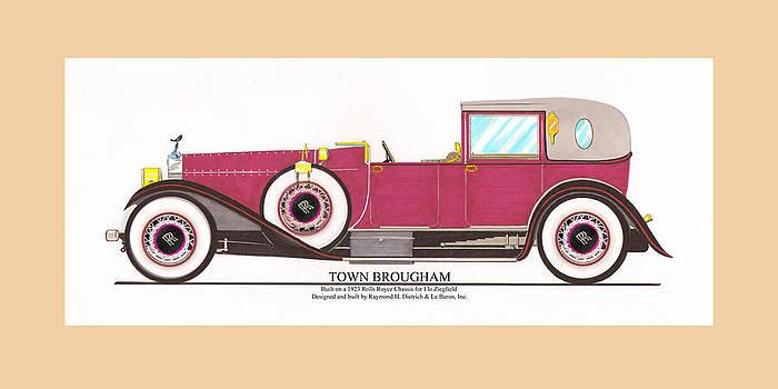 Jack Pumphrey - 1923 Rolls Royce by Raymond H Dietrich