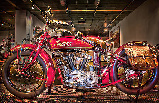 1928 Indian  by Steve Benefiel