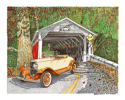 Jack Pumphrey - 1929 Chrysler 65 Covered Bridge