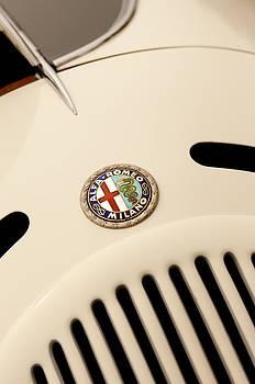 Jill Reger - 1931 Alfa Romeo 6C 1750 Gran Sport Aprile Spider Corsa Hood Emblem