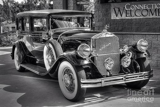 1931 Pierce Arrow Black and White by Kevin Ashley