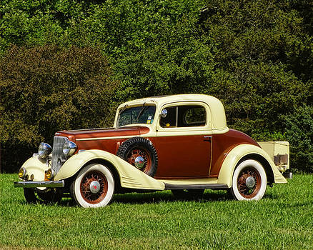 Pamela Phelps - 1933 Chevy Master Coupe