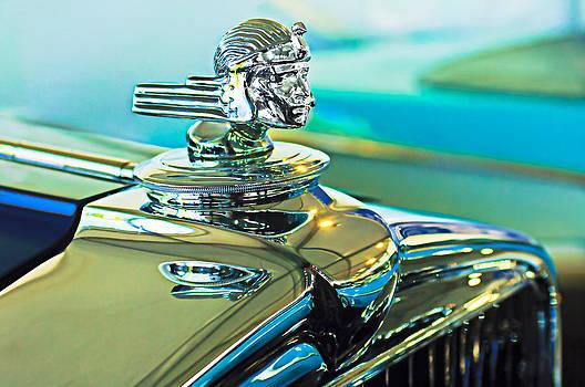 Jill Reger - 1933 Stutz DV-32 Hood Ornament