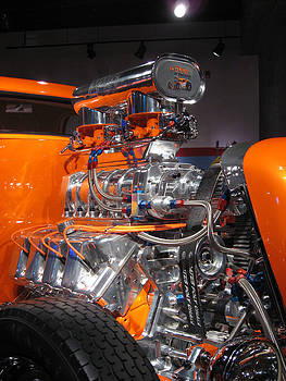 1934 Ford Custom Coupe - In Excess - closeup by Paul Thomas