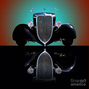 1934 Ford Phaeton Convertible by Jim Carrell
