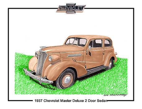 Jack Pumphrey - 1937 Chevy Master Deluxe 2 Dr Sedan
