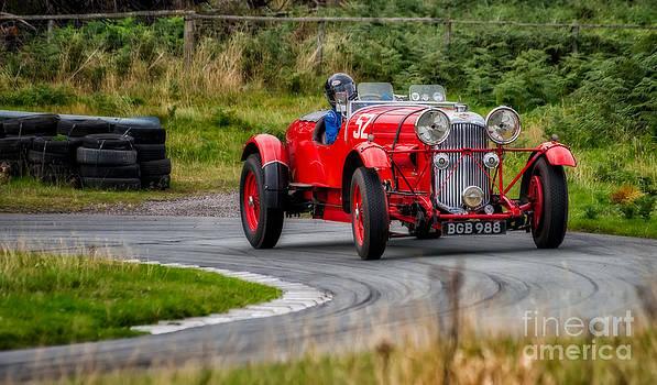 Adrian Evans - 1937 Lagonda
