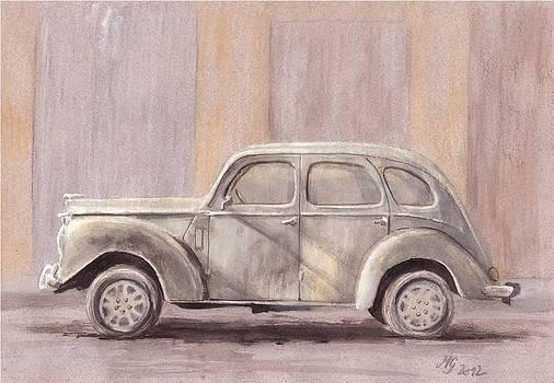 1940s Lincoln Zephyr by Milena Gawlik