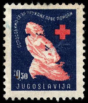 1948 Yugoslavia Postage Stamp by Charles  Dutch