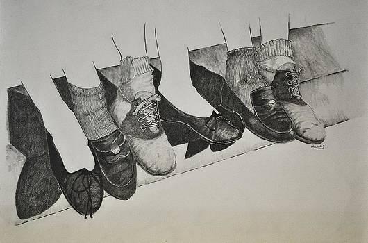 1950 Shoe Fad by Glenn Calloway