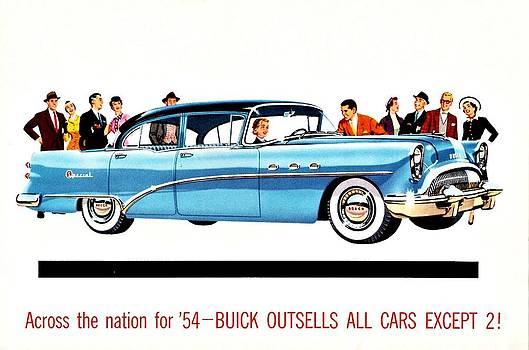 1954 Buick ad by Allen Beilschmidt