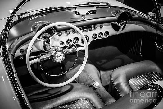 Paul Velgos - 1954 Chevrolet Corvette Interior