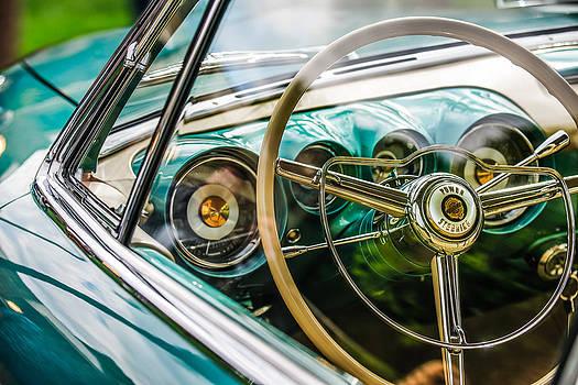 Jill Reger - 1954 Chrysler Ghia Steering Wheel Emblem -1627c