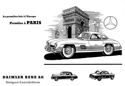 1954 Mercedes Benz by Allen Beilschmidt