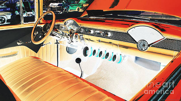 1955 Chevy Bel Air by Deborah Fay