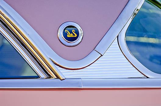 Jill Reger - 1956 DeSoto Fireflite Sportsman Hardtop Emblem
