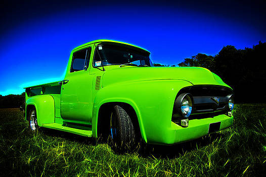 motography aka Phil Clark - 1956 Ford F-100 Pickup Truck