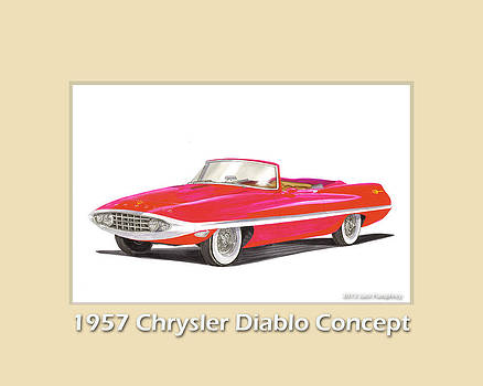 Jack Pumphrey - 1957 Chrysler Diablo Convertible Coupe