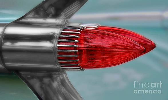 1959 Cadillac Taillight by Henry Kowalski