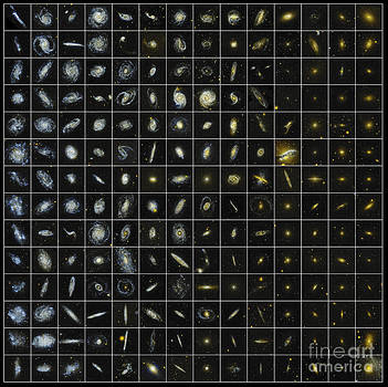 Science Source - 196 Galaxies