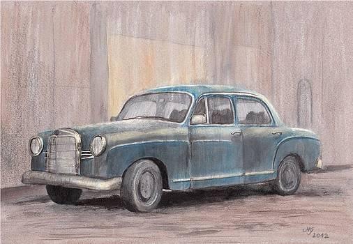 1960s Mercedes Benz by Milena Gawlik