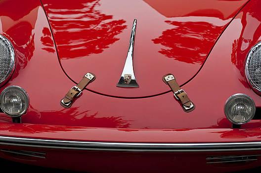 Jill Reger - 1961 Porsche 356 B Roadster Hood Emblem